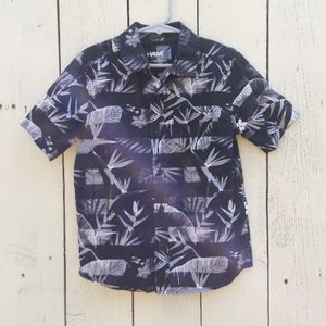 Hawk Boy's Large Hawaiian Bird of Paradise Shirt